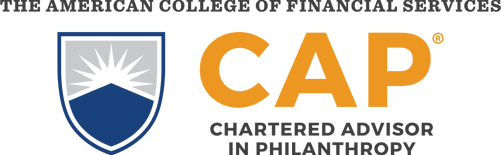 The American College of Financial Services Chartered Advisor in Philanthropy logo